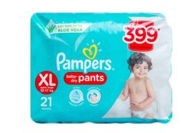 Pampers XL Size 21 Baby Dry Pants